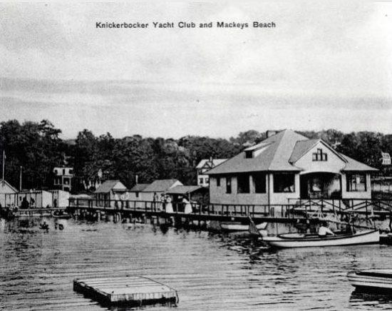 Knickerbocker Yacht Club and Mackeys Beach